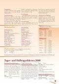 und Halbtagesfahrten 2008 - Reisedienst Einhorn - Seite 5