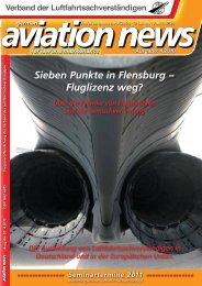 Sieben Punkte in Flensburg – Fluglizenz weg? - Urteile - Recht