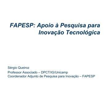 FAPESP - Open Innovation Seminar