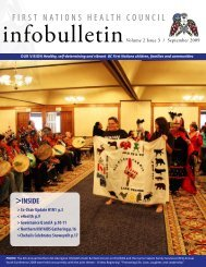 FNHC Infobulletin Volume 2 Issue 3 | September 2009