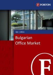 Bulgarian Office Market – Q1, 2011.pdf - Forton