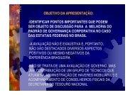 Governança Corporativa - Ministério do Planejamento, Orçamento e ...