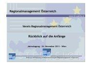 Rückblick auf die Anfänge des Vereins Teil 1 - RM Austria