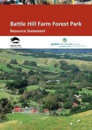 Battle Hill Farm Forest Park - Greater Wellington Regional Council