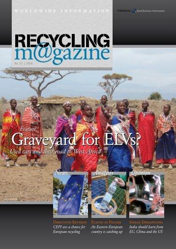 Graveyard for ELVs? - RECYCLING magazin