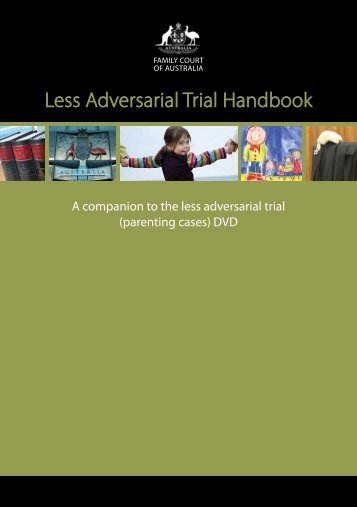 Less Adversarial Trial Handbook - Family Court of Australia