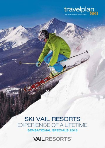 SKI VAIL RESORTS - Travelplan Ski