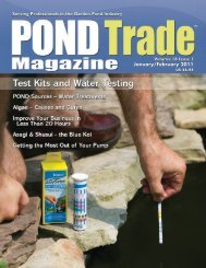 Download the January / February, 2011 PDF - Pond Trade Magazine