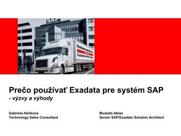 Oracle Exadata Database Machine for SAP ... - ASBIS SK Online