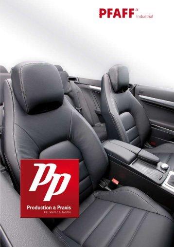 Production & Praxis Autositze/Car seats (12,5 MB) - PFAFF Industrial