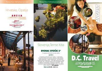 Avgust 2011 - DC Travel