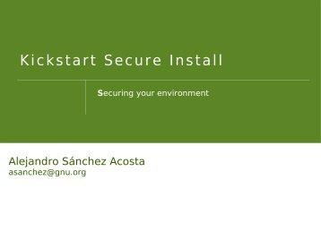 Securing