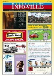 Info-Ville juillet août 2010 - MontreuxInfoVille