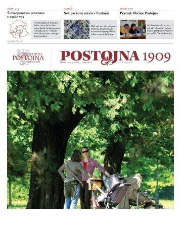 Marec 2009 - Občina Postojna