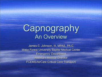 Capnography An Overview