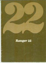 Manual do Ranger 22 - Associação Brasileira da Classe Ranger 22