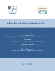 A New Era in California Juvenile Justice - National Council on Crime ...