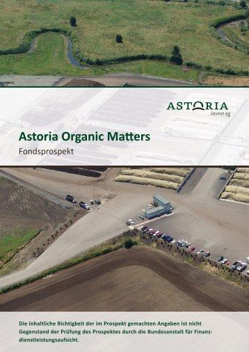Emissionsprospekt - Astoria Invest