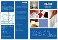 Gotton Manor Brochure - Four Seasons Health Care