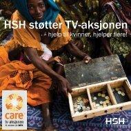 HSH støtter TV-aksjonen - TVU-INFO