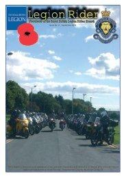 Newsletter No 11  - The Royal British Legion Riders Branch