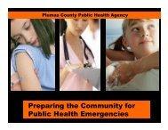 Preparing the Community for Public Health Emergencies Presentation