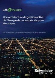 Une architecture de gestion active de l'énergie ... - Schneider Electric