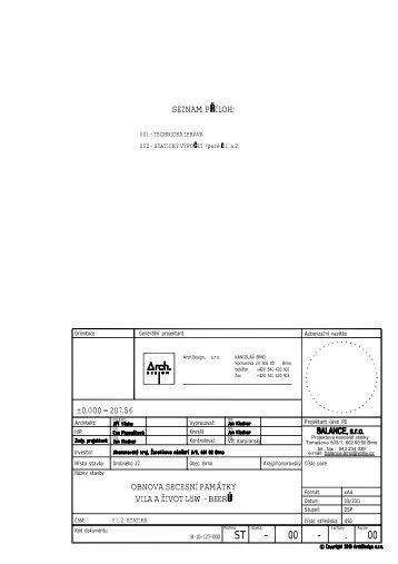 Zpráva a statický výpočet.pdf - Jihomoravský kraj