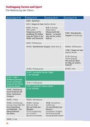 Fachtagung: Sport und Turnen (PDF)