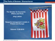 The Ports of Bremen / Bremerhaven - ZMiGM