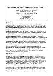 Testnotizen zum Skoda Roomster 1 - Fahrschule online