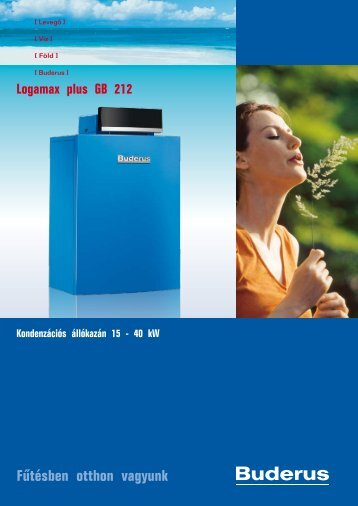 Logano plus GB 212 kondenzációs állókazán