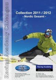Collection 2011 / 2012 - Nordic Gesamt - racing academy chiemgau