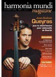 Mag hm n¡9 2005 - Harmonia Mundi