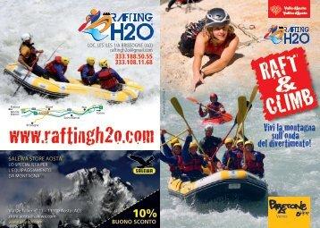 185,00 - Rafting h2o