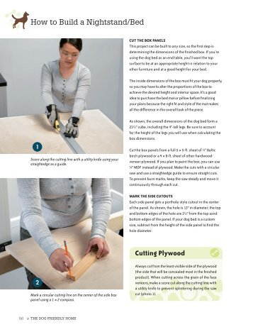 Cutting Plywood How to Build a Nightstand/Bed - Qbookshop