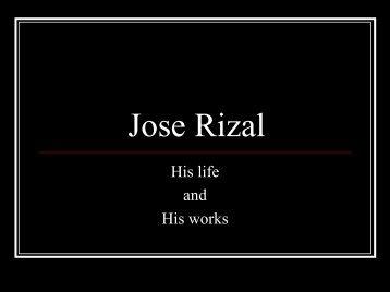 Jose Rizal - AboutPhilippines.ph