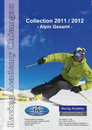 Collection 2011 / 2012 - Alpin Gesamt - racing academy chiemgau