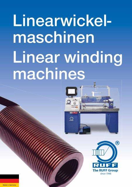 maschinen Linear winding machines - Ruff