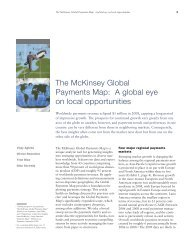 The McKinsey Global Payments Map: A global eye on local ...