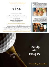Tee Up NCJW - Essex County Section