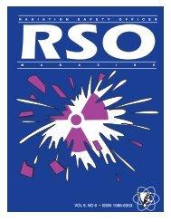 RSO - Radiation Safety Associates, Inc.