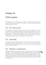 SI vs. CGS jednotky