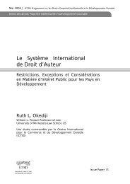 Le Système International de Droit d'Auteur - IPRsonline.org