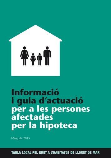 Informació i guia d'actuació per a les persones afectades per la ...