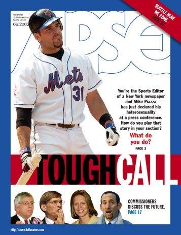 APSE June 2002 (Page 1) - Associated Press Sports Editors - APSE