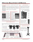 moving equipment view catalog - Pianotek Supply Company - Page 2