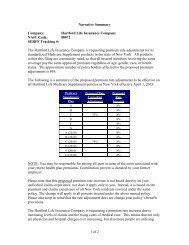 Hartford Life Insurance Company NAIC Code - The Hartford