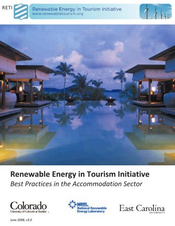 Renewable Energy in Tourism Initiative - To Parent Directory - East ...