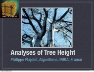 Analyses of Tree Height - Inria